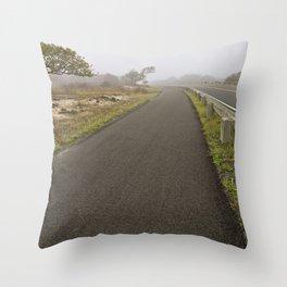 Misty Assateague Route Throw Pillow