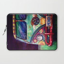 Peacemobile- by Kerian Babbitt Massey Laptop Sleeve