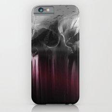 Creepy skull iPhone 6s Slim Case