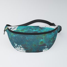 Turquoise Twist Fanny Pack