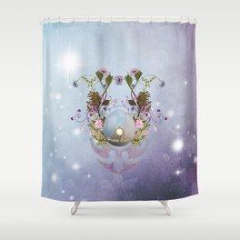 Wonderful easter egg Shower Curtain
