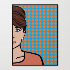 Cheryl Tunt of ISIS Canvas Print