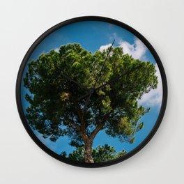 Italian Stone Pine Tree III Wall Clock