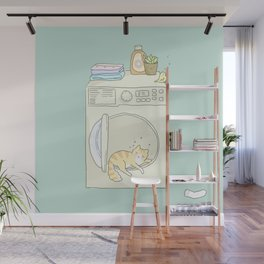 Lazy Time Wall Mural
