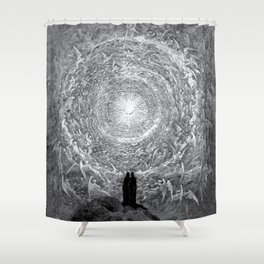 Gustave Dore: The Empyrean Shower Curtain