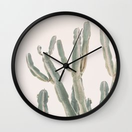 Sunrise Cactus Wall Clock