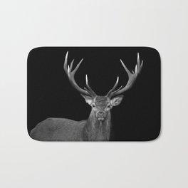 Red deer stag Bath Mat