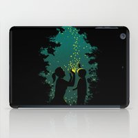 fireflies iPad Cases featuring Fireflies by pigboom el crapo