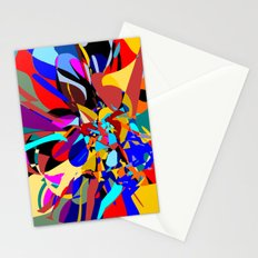 Flora Abstract Stationery Cards
