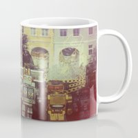 robots Mugs featuring Robots by GF Fine Art Photography