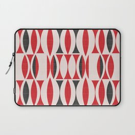 Seventies in Cherry Red (little) Laptop Sleeve