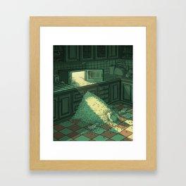 Micro Wave Framed Art Print