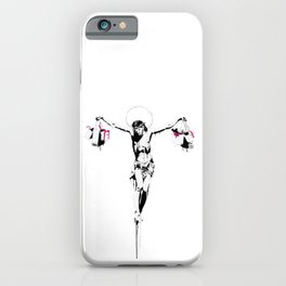 Christ of Shopping iPhone Case
