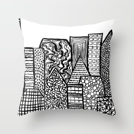 Where Are You Today? Throw Pillow
