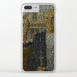 Love Will Tear Us Apart Clear iPhone Case