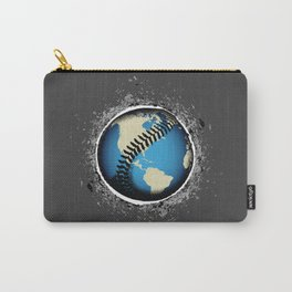 It's A Baseball World Carry-All Pouch