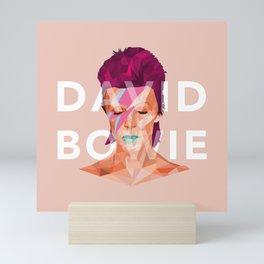 D. Bowie Mini Art Print