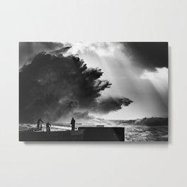 Waves, Foz do Douro Metal Print