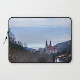 Basilica of Covadonga in the mountains, Spain Laptop Sleeve