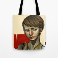 sam smith Tote Bags featuring Sam by Kai Christie