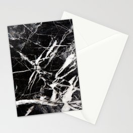 Vintage Black Marble Stationery Cards