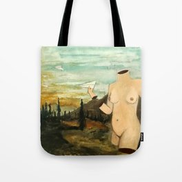 """A Sun is Setting""  Tote Bag"