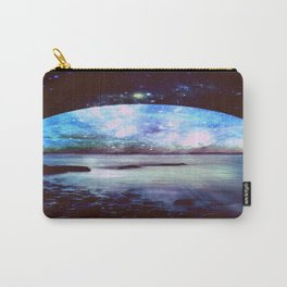 Mystic Lake Dark & Colorful Carry-All Pouch