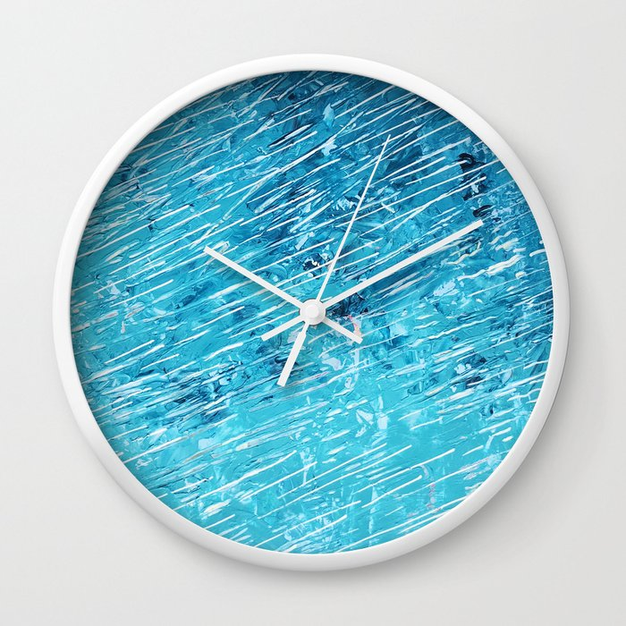 diving into the colour Wall Clock