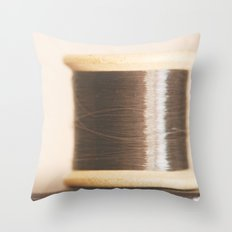 k is for knight Throw Pillow