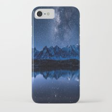 Night mountains Slim Case iPhone 8