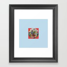 CANICA 9 Framed Art Print