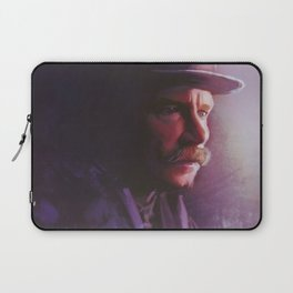 """""""HOLMES!! TELL ME WHERE MY BLOODY WIFE IS?"""" Laptop Sleeve"""