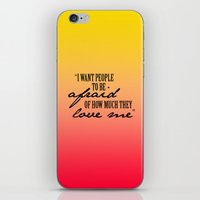 michael scott iPhone & iPod Skins featuring The Office Print // Michael Scott by Hannah Phillips Media