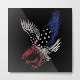 American Eagle. Metal Print