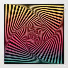 Summer Sunset Twista Canvas Print