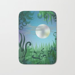 Jungle night Bath Mat