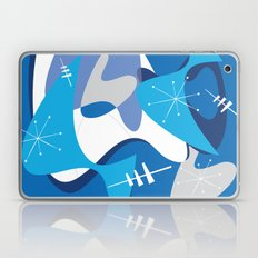 Blue Bam Boom Laptop & iPad Skin