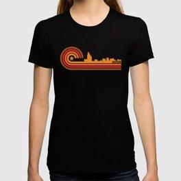 Retro Jackson Mississippi Skyline T-shirt