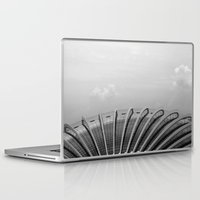 singapore Laptop & iPad Skins featuring Singapore Architecture by rossco