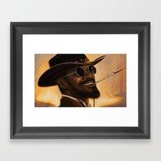 Django - Our newest troll Framed Art Print