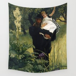 James Tissot - The Widower Wall Tapestry