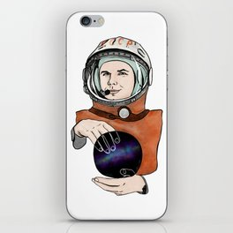 Yuri Gagarin. Space day. iPhone Skin