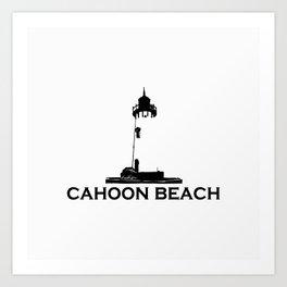 Cahoon Beach. Cape Cod Art Print