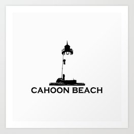 Cahoon Beach. Cape Cod Art Print