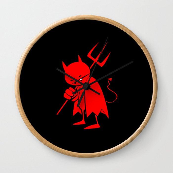 minima - sad devil Wall Clock