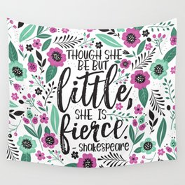 Little and Fierce Wall Tapestry