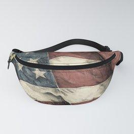 Stars 'n' Stripes - Antiqued Fanny Pack