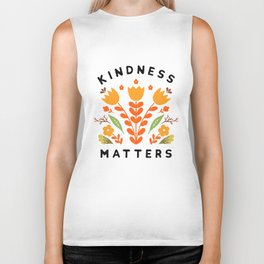 kindness matters Biker Tank