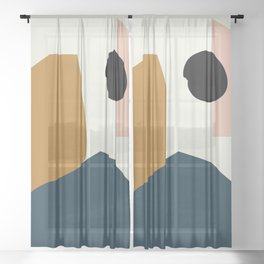 Shape study #1 - Lola Collection Sheer Curtain