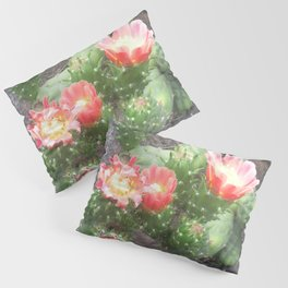 A cactus in its bloom Pillow Sham